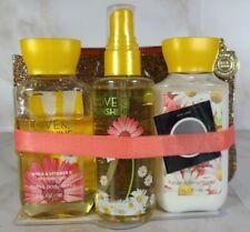 Bath and Body Works Love & Sunshine Mini Gift Set with Bag NEW!