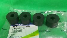 GENUINE SSANGYONG MUSSO SPORTS UTE 2.9 L TD FRONT & REAR SWAY BAR LINK BUSH SET