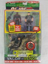 G.I. Joe Valor vs Venom Tiger Storm Copter Wild Bill Recondo Sand Viper HASBRO