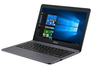 ASUS E203N11.6 Inch Laptop - (Star Grey) (Intel Celeron 3350... RAM 2GB. MEM32GB