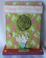 Gift Mom Wooden Reversable Plaque Sign Rectangle Free Standing
