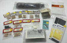 LOT NEW Vintage Model Train Detail Parts HO Scale Barrels Fence Roof Freight