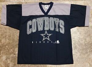"1996 Vintage Dallas Cowboys Riddell Polyester NFL Football Size Medium 22"" x 27"""
