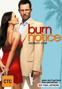 Burn Notice Season 1 (DVD, 4-Disc Set) Series One First - AUSTRALIAN REGION 4