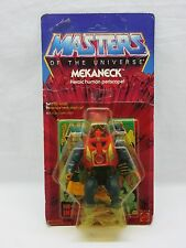 MOTU,VINTAGE,MEKANECK,Masters of the Universe,MOC,carded,sealed,figure,He-Man