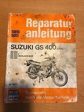 Reparaturanleitung Suzuki GS 400 2-Zylinder ab 1977, Bucheli Verlag 5010/5011