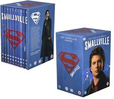 Smallville 1-10 2001-2011 Complete Teen TV Superman Season Series DVD UK Not US