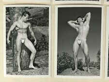Male Nude Collection, 1950's Physique, Posing Strap Era, WPG, Keith Lewin, 4x6