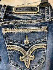 """Rock Revival Womens Mid-Rise Skinny Jeans Size 32 - inseam 31"""""""