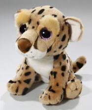 Süßes Stofftier großes Plüschtier Leopard von NICI beige blau 35 cm Stofftiere & Kuscheltiere