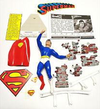 Revell Superman Model Kit 1999 Started Complete