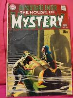 HOUSE OF MYSTERY 181 NEAL ADAMS COVER 1969 DC COMICS 7.0 Fine/Very Fine