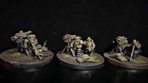 Renegade Militia missile launcher conversion painted pack Warhammer 40k Chaos