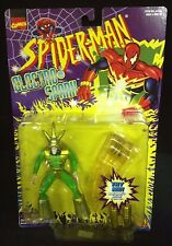1998 TOY BIZ SPIDER-MAN ELECTRO-SPARK SERIES ELECTRO ACTION FIGURE MARVEL S2