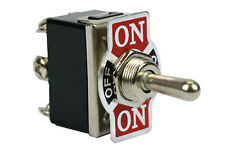 TEMCo Heavy Duty 20A 125V ON-OFF-ON DPDT 6 Terminal Toggle Switch