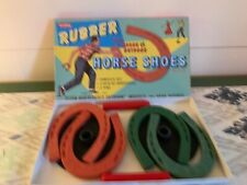 Schylling Rubber Horse Shoes Indoor Outdoor Pitching Game New Never Used