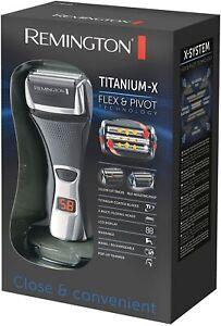 Remington Titanium - X Flex & Pivot F7800 Dual Foil Shaver. New Sealed