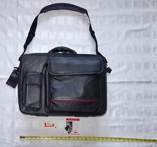 Targus Full Grain Leather Business Traveler Laptop Padded Lined Carry On -- $229
