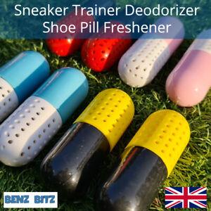 Authentic Sneaker Shoe Pill Deodorizer Trainer Freshener Anti Moisture UK Seller
