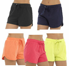 Unbranded Cotton Patternless Plus Size Shorts for Women