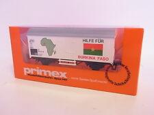 KV 811 153 | Neuwertiger Märklin Primex H0 4593 Kühlwagen Burkina Faso in OVP