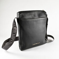 b4cb3ca24dbf Emporio Armani Grey Men s Shoulder   Messenger   Reporter Bag - Brand New