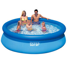 INTEX Easy Quick Up Pool Swimming 396x84cm Schwimmbecken Planschbecken