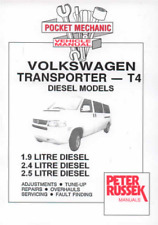 Workshop Manual Volkswagen VW Transporter T4 Diesel 1996-2005 Service Repair