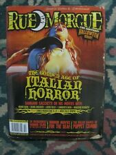 Rue Morgue 196  Uncirculated  23rd Halloween Anniversary Issue
