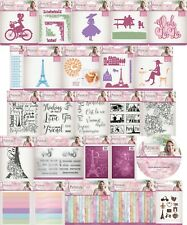 Crafters Companion - Parisian - SARA SIGNATURE COLLECTION - Cardmaking