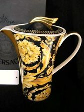 ROSENTHAL VERSACE VANITY COFFEE POT BRAND NEW BOXED WITH CERT SLIGHTLY DAMAGED