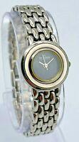 Women's SKAGEN Denmark Ultra Slim Silver Tone Steel Bracelet Watch, Black 54SSJB