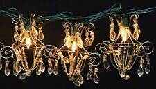 Mini Acrylic Crystal Chandelier String Lights Lites