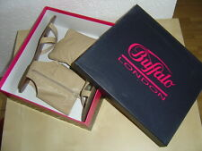 Buffalo Schuhe Boots Sandalen Leder Beige EUR Gr. 39 oder 40 size US 8 or 9