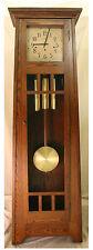 AMERICAN MADE MISSION OAK GRANDFATHER CLOCK BY STONEYBROOK CLOCKS -THE LUDWIG II