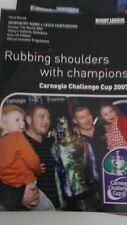11.3.2007 Dewsbury Rams v Leigh Centurions programme Challenge Cup