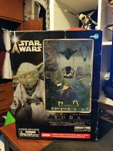 Star Wars Empire Strikes Back Yoda Artfx Statue By Kotobukiya