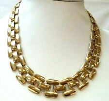 """Stunning Vintage Estate Gold Tone Chain 18"""" Necklace! 5984F"""