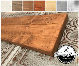 Scaffolding Shelf -Scaffold Board Rustic RECLAIMED Shelves Industrial Solid Wood
