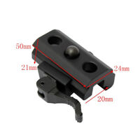 QD Quick Detach Cam Lock Bipod Sling Adapter Mount Picatinny Weaver Rail 20mm