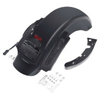 CVO Style Rear Fender System W/ LED Light For Harley Touring Road King 2009-2013