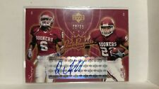 QUENTIN GRIFFIN OU OKLAHOMA SOONERS 2003 UPPER DECK AUTO AUTOGRAPH CARD 08/50