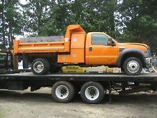 2010 ford f550 4x4 dump truck