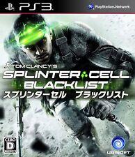 NEW PS3 Splinter Cell Blacklist JAPAN Sony PlayStation 3 import Japanese game