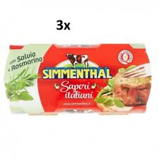 6x SIMMENTHAL sapori italiani beef in aspic 135g sage and rosemary