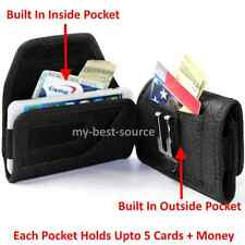 Rugged Horizontal Case Pouch for Samsung Galaxy Note 2/3/4/5 + Holster Belt Clip