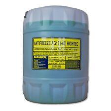 20 (1x20) Liter MANNOL Antifreeze AG13 Frostschutz Fertiggemisch grün (-40°C)