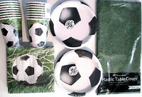 SOCCER Fanatic - Birthday Party Supply Pack Kit for 16