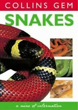 Snakes (Collins Gem) by Mattison, Chris Paperback Book The Cheap Fast Free Post