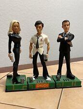 """""""Chuck� Tv Collectible Figures 2012 Exclusive Nbc Store Rare Chuck Sarah & Casey"""